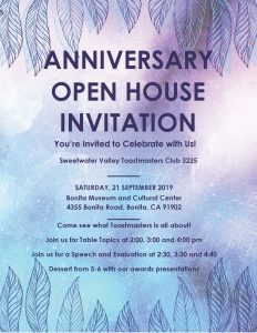 Open House & Anniversary @ Bonita Museum & Cultural Center